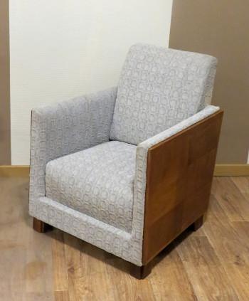 fauteuil 1930 tissu Elitis