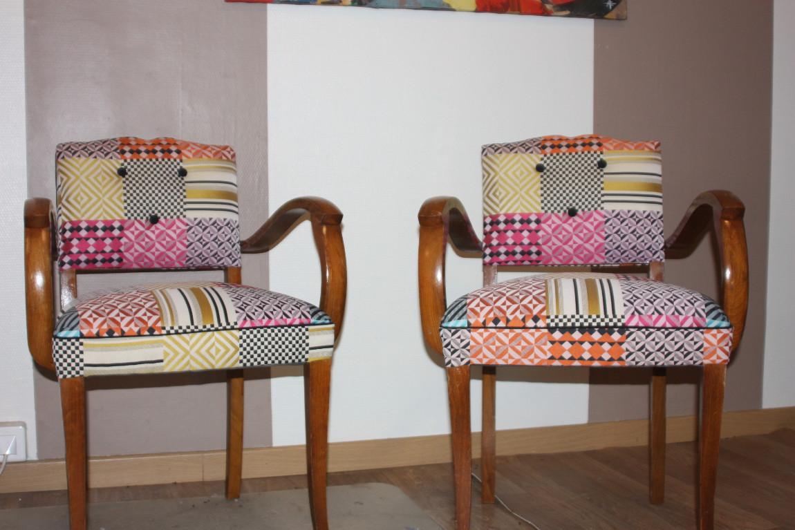 fauteuil bridge gilles auriol tapissier. Black Bedroom Furniture Sets. Home Design Ideas