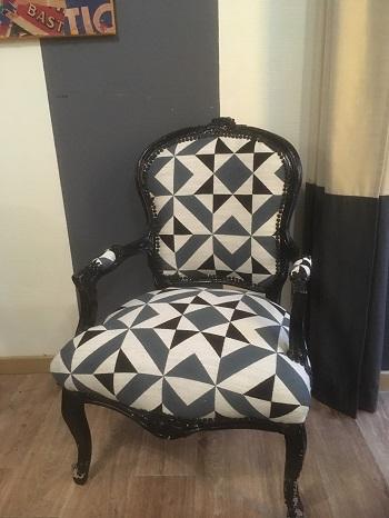 fauteuil cabriolet louis xv gilles auriol tapissier. Black Bedroom Furniture Sets. Home Design Ideas