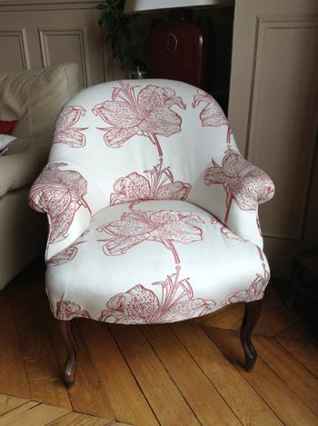 fauteuil crapaud gilles auriol tapissier. Black Bedroom Furniture Sets. Home Design Ideas