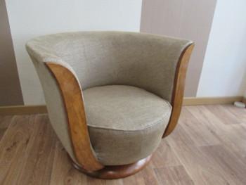 fauteuil tonneau 1930