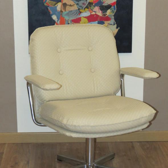 fauteuil moderne à coussins