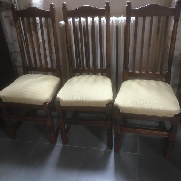 chaises rustiques